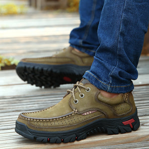 (🔥50% OFF Today) High Quality Men Casual Waterproof Work Breathable Shoes