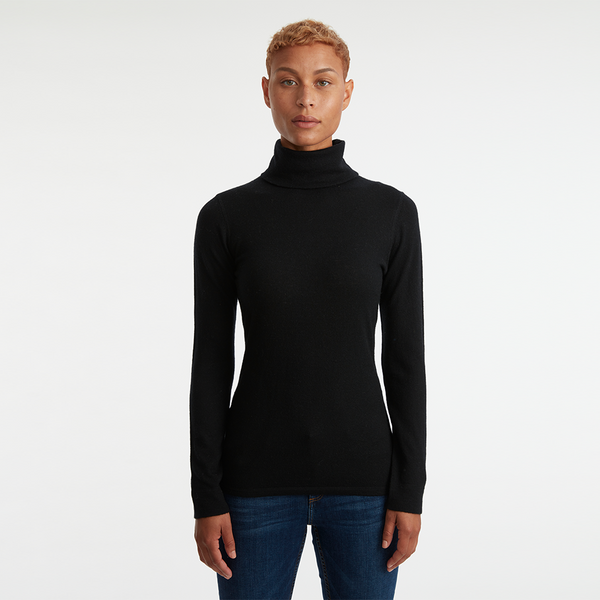 CALIFORNIA CASHMERE TURTLENECK