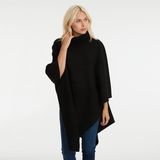 THE ASYMMETRICAL TURTLENECK PONCHO