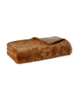 THE SOLID FAUX FUR THROW