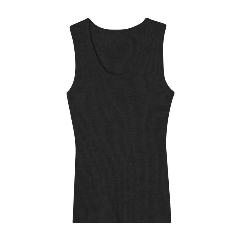 CALIFORNIA CASHMERE RIBBED TANK