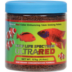 New Life Spectrum Ultra Red Regular Sinking Pellets (1mm)