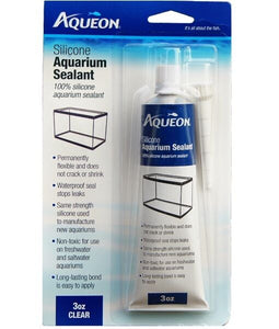 Aqueon Aquarium Silicone Sealant - Clear 3oz