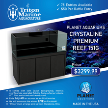 Load image into Gallery viewer, Crystaline Premium Reef - 151g Black-Planet Aquariums - Raffle