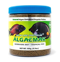 New Life Spectrum ALGAEMAX (Naturox Series) Regular Sinking Pellet (1mm-1.5mm) 150g