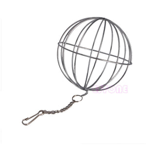 Stainless steel hay ball