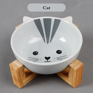 Pet bowls that look right back at you
