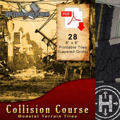 Collision Course Tile Set Cover Image