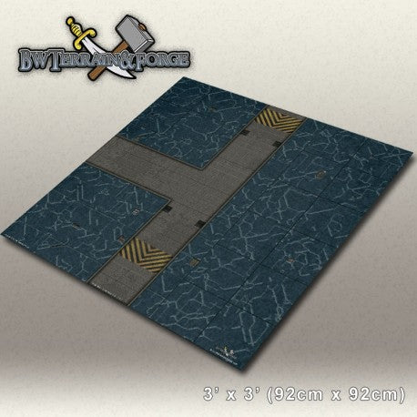 Forge Mats: Alpha Base One (Blue Variant) - bw-terrain-forge