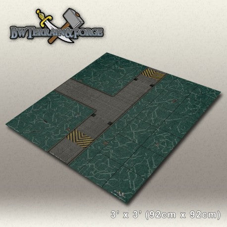 Forge Mats: Alpha Base One (Green Variant) - bw-terrain-forge