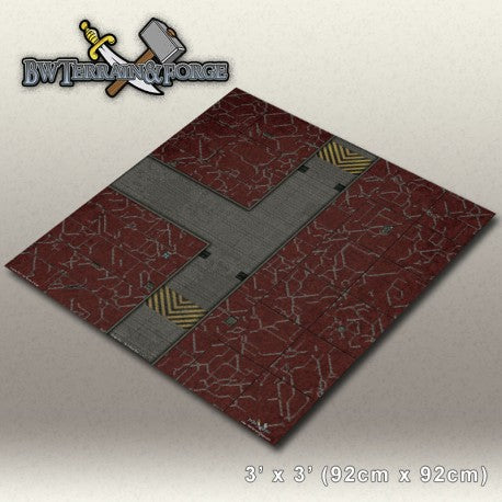 Forge Mats: Alpha Base One (Red Variant) - bw-terrain-forge