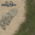 Forge Mats: Coastal Defender - Oceanfront Themed Gaming Mat - bw-terrain-forge