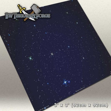 Forge Mats: Star Scape - space themed gaming mat - bw-terrain-forge