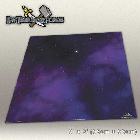 Forge Mats: Deep Space - space themed gaming mat - bw-terrain-forge
