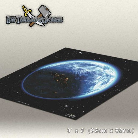 Forge Mats: Orbital Pursuit - space themed gaming mat - bw-terrain-forge