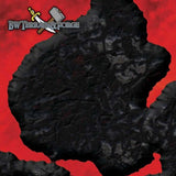 Forge Mats: Inferno - Volcanic Lava pool themed terrain mat - bw-terrain-forge