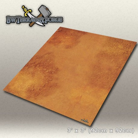 Forge Mats: Red Desert - Mars Themed Gaming Mat - bw-terrain-forge