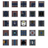 Digital Forge: Gamza Base 69 - Space Station Themed Modular Terrain Tiles - bw-terrain-forge