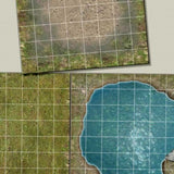 Digital Forge: Huntsman's Forest - Forest Themed Modular Terrain Tiles - bw-terrain-forge