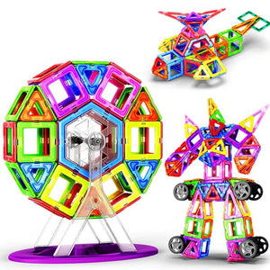 Mini Magnetic Building Blocks Tiles Toy