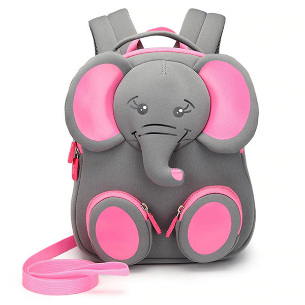Neoprene Water Resistant Backpack With Reins Emma Elephant