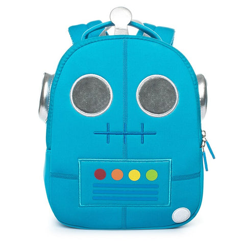 Neoprene Water Resistant Backpack With Reins Rex Robot