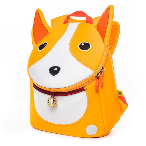 Neoprene Water Resistant Backpack With Reins Cora Corgi