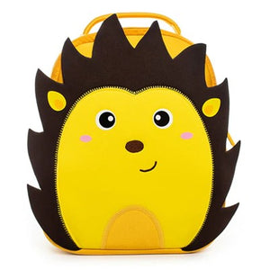 Neoprene Water Resistant Backpack With Reins Henry Hedgehog