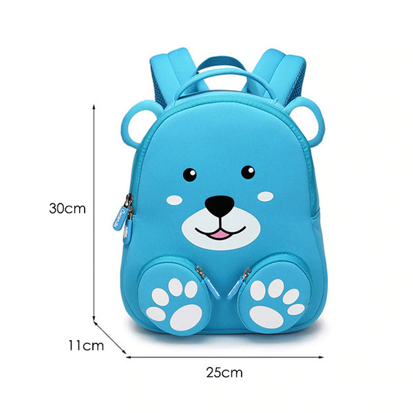 Neoprene Water Resistant Backpack With Reins Benji Bear