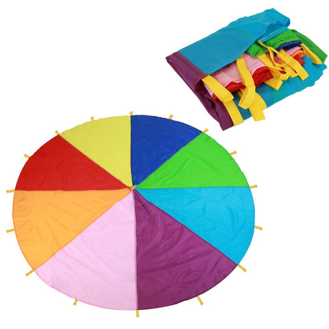 Rainbow Play Parachute Game