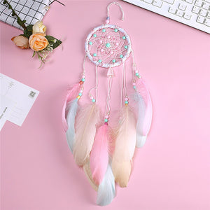 Pretty Pink Decorative Dream Catcher