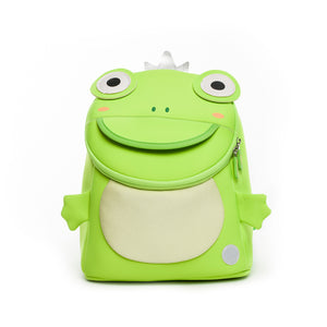 Neoprene Water Resistant Backpack With Reins Finn Frog Prince