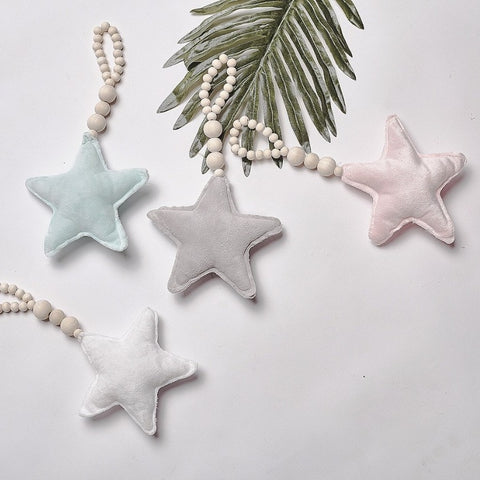 Hanging Soft Moon Heart Star Decoration Ornament