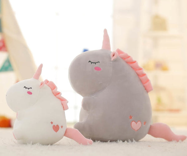 Roly Poly Unicorn Stuffed Animal Plush