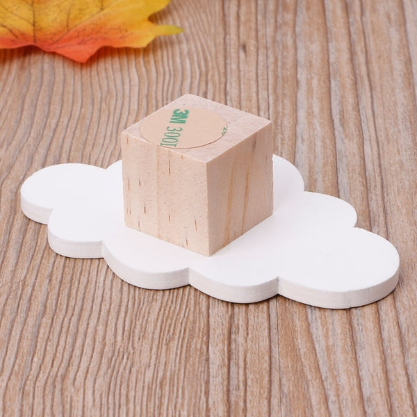 Wooden Cloud Wall Hanger