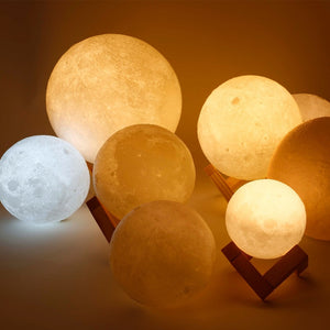 Glowing Moon LED Night Light