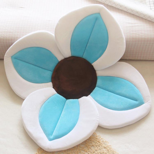 Blooming Baby Bath 4 Petal Flower Cushion Foldable Sink Insert