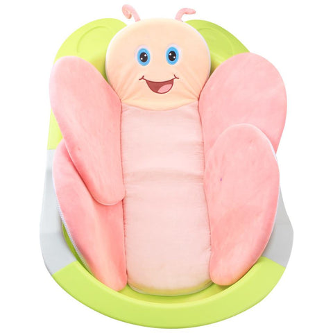 Blooming Baby Bath Butterfly Cushion Foldable Baby Bath Insert