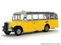1959 Saucer L4C PTT 1:43 Atlas diecast Scale Model Bus