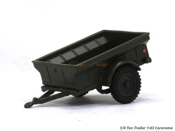 1/4 Ton Trailer 1:43 Cararama diecast Scale Model