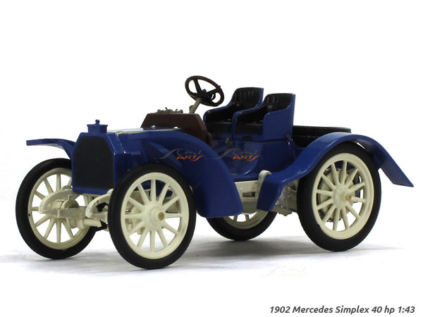 1902 Mercedes Simplex 40hp 1:43 diecast Scale Model Car