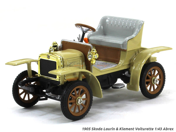 1905 Skoda Laurin & Klement Voiturette 1:43 Abrex diecast Scale Model Car