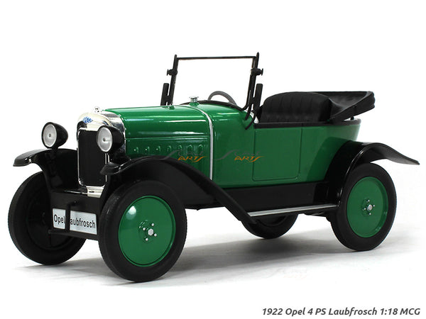 1922 Opel 4 PS Laubfrosch 1:18 MCG diecast Scale Model Car