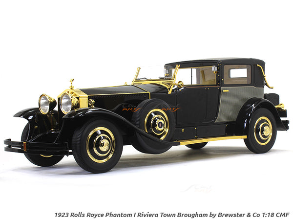 1923 Rolls-Royce Phantom I Riviera Town Brougham by Brewster & Co 1:18 CMF scale model car collectible