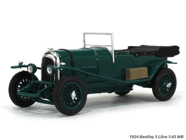 1924 Bentley 3 Litre 1:43 Whitebox diecast Scale Model Car