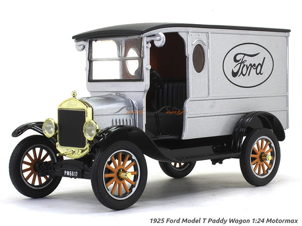 1925 Ford Model T Paddy Wagon 1:24 Motormax diecast scale model car