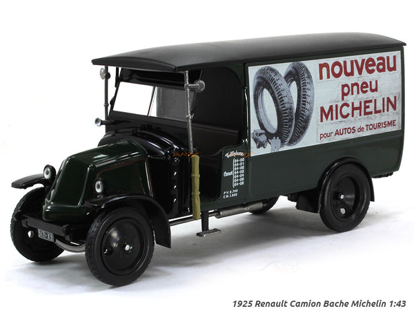 1925 Renault Camion Bache Michelin 1:43 diecast Scale Model Car