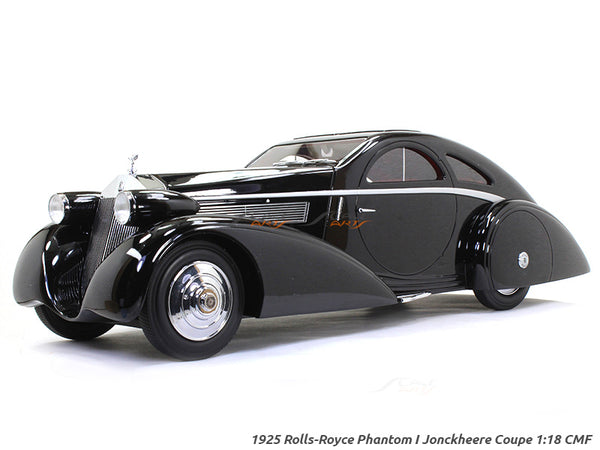 1925 Rolls-Royce Phantom I Jonckheere Coupe 1:18 CMF scale model car