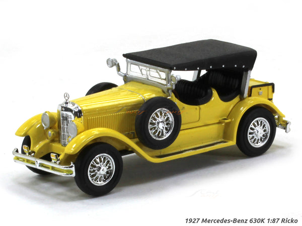 1927 Mercedes-Benz 630K 1:87 Ricko HO Scale Model car