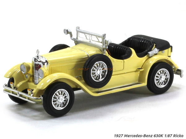 1927 Mercedes-Benz 630K open 1:87 Ricko HO Scale Model car
